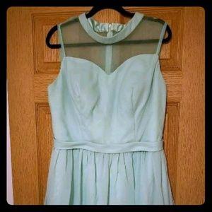 Formal Mint Green Dress